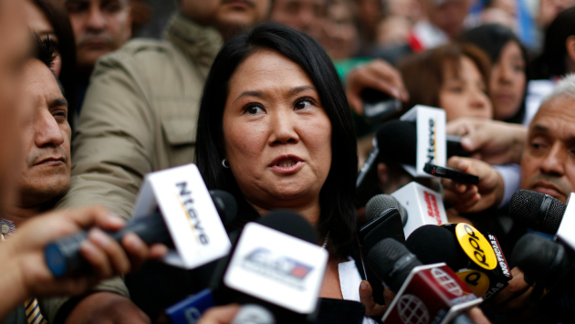 Keiko Fujimori dice ser consecuente (Luis Gonzáles)