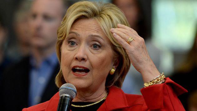 En campaña. Precandidata demócrata a la presidencia de EE.UU. (AFP)