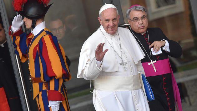 En discurso. Sumo Pontífice dio una misa en la Basílica de San Pedro antes de iniciar el evento. (Reuters)