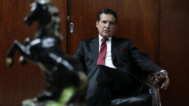 Caído del cielo. El congresista Chehade era parte del entorno de los Humala-Heredia, fue abogado de ellos e incluso vicepresidente. (Nancy Dueñas)