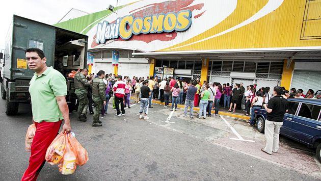 Complicada vida en Venezuela. (EFE)