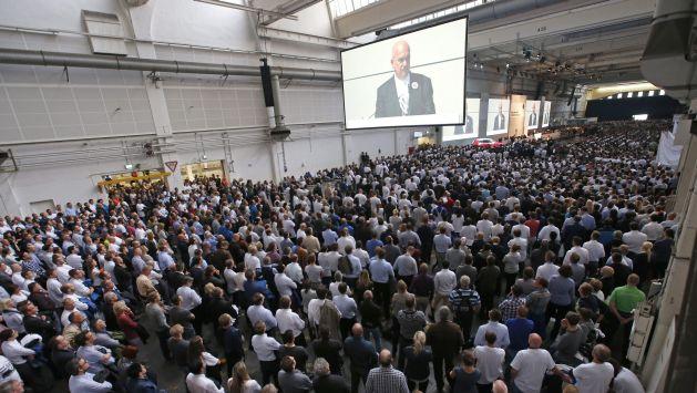 Volkswagen señaló que por el momento no habrá cambios laborales. (EFE)