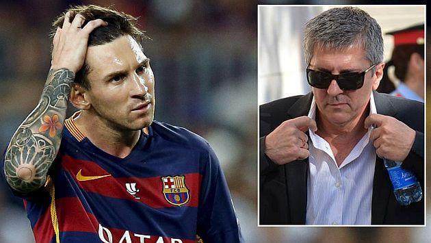 Lionel Messi: Fiscal lo exculpó pero pidió 18 meses de prisión para su padre por fraude fiscal. (Reuters/taringa.net)