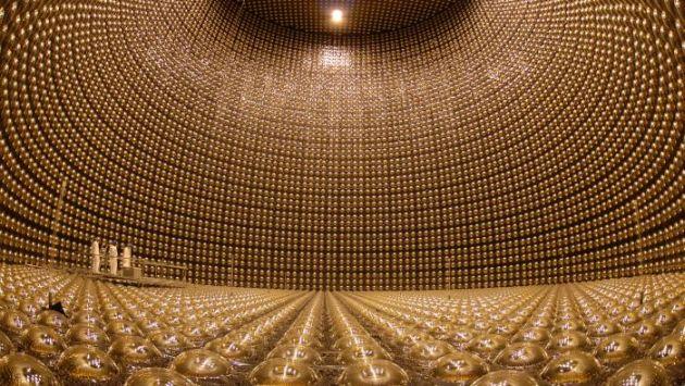 El detector de neutrinos Super-kamiokande de Japón, donde investigó Takaaki Kajita, ganador del Premio Nobel. (elmundo.es)