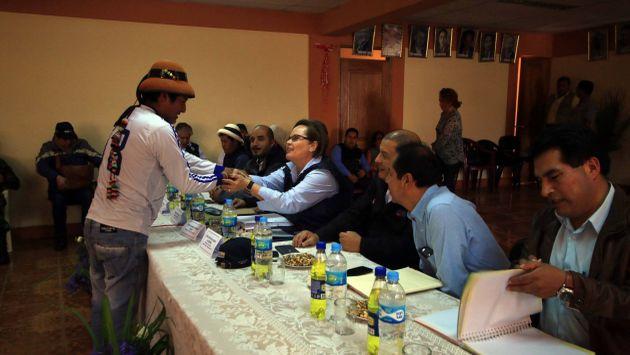 Las Bambas: Dirigentes acordaron levantar paro contra proyecto minero. (Ministerio de Energía y Minas)