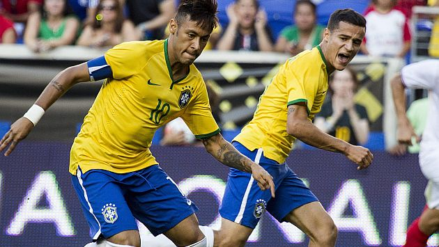 Jugadores brasileños subastarán camisetas para víctimas de terremoto en Chile. (USI)