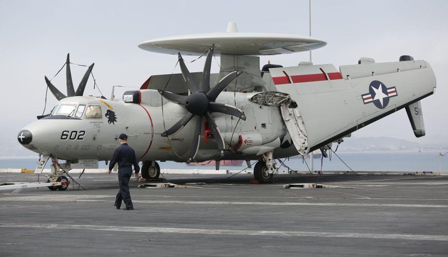 Portaaviones de los EEUU arribó al Callao. (Percy Ramírez/Perú21)