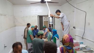 Afganistán: Al menos 19 muertos tras bombardeo de EEUU a hospital de Médicos Sin Fronteras [Fotos]