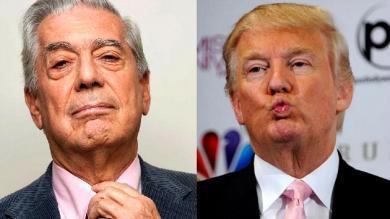 """Mario Vargas Llosa: """"Donald Trump es un demagogo, racista y payaso"""""""