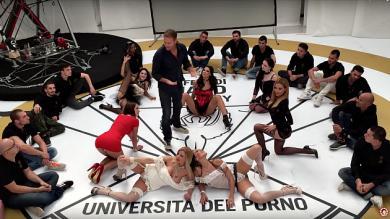 Rocco Siffredi presentó la primera universidad porno del mundo [Video]