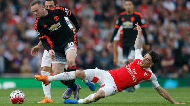 Arsenal goleó 3-0 a Manchester United por la Premier League [Video]