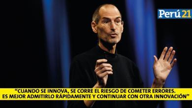 Steve Jobs: 10 frases del fundador de Apple a cuatro años de su muerte