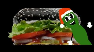 Burger King lanzó su Whopper Halloween pero los clientes se llevaron una sorpresa al ir al baño