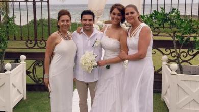Karen Schwarz explicó que lo que pasó en Punta Cana fue una alianza simbólica y no un matrimonio