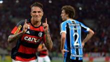 Flamengo venció 2-0 a Joinville con Paolo Guerrero en la cancha