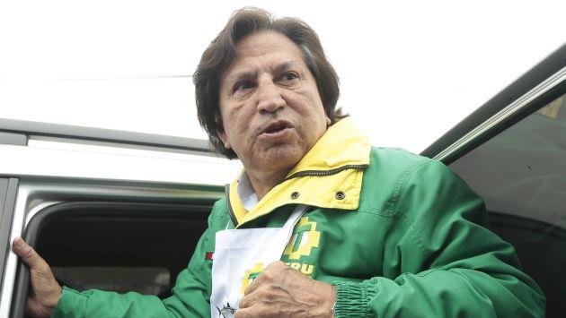 Alejandro Toledo dará testimonio por el caso de las maletas con dinero de Venezuela. (Nancy Dueñas)