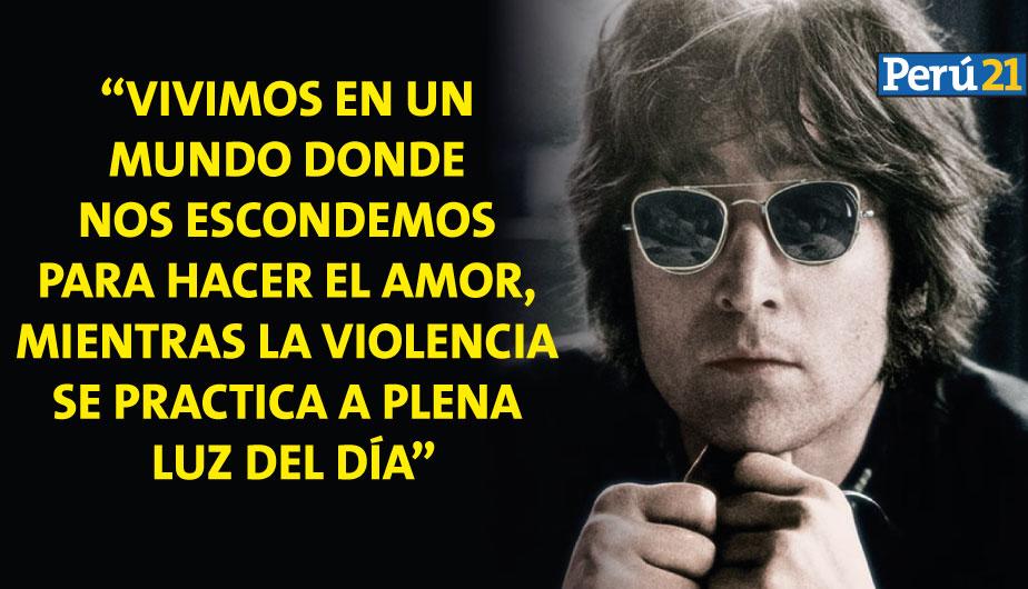 John Lennon Diez Frases Para Recordarlo En Su Cumpleaños