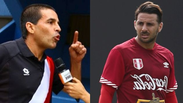 """Claudio Pizarro es una tortuga embarazada"", afirmó Gonzalo Núñez"