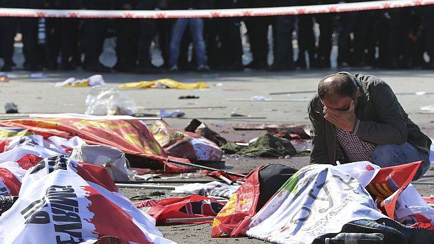Ankara: Al menos 86 muertos por atentando contra manifestación por la paz