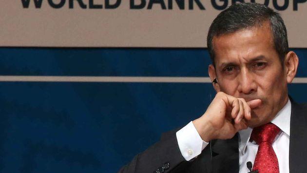 Exhortan a fiscal a pedir peritaje para Ollanta Humala