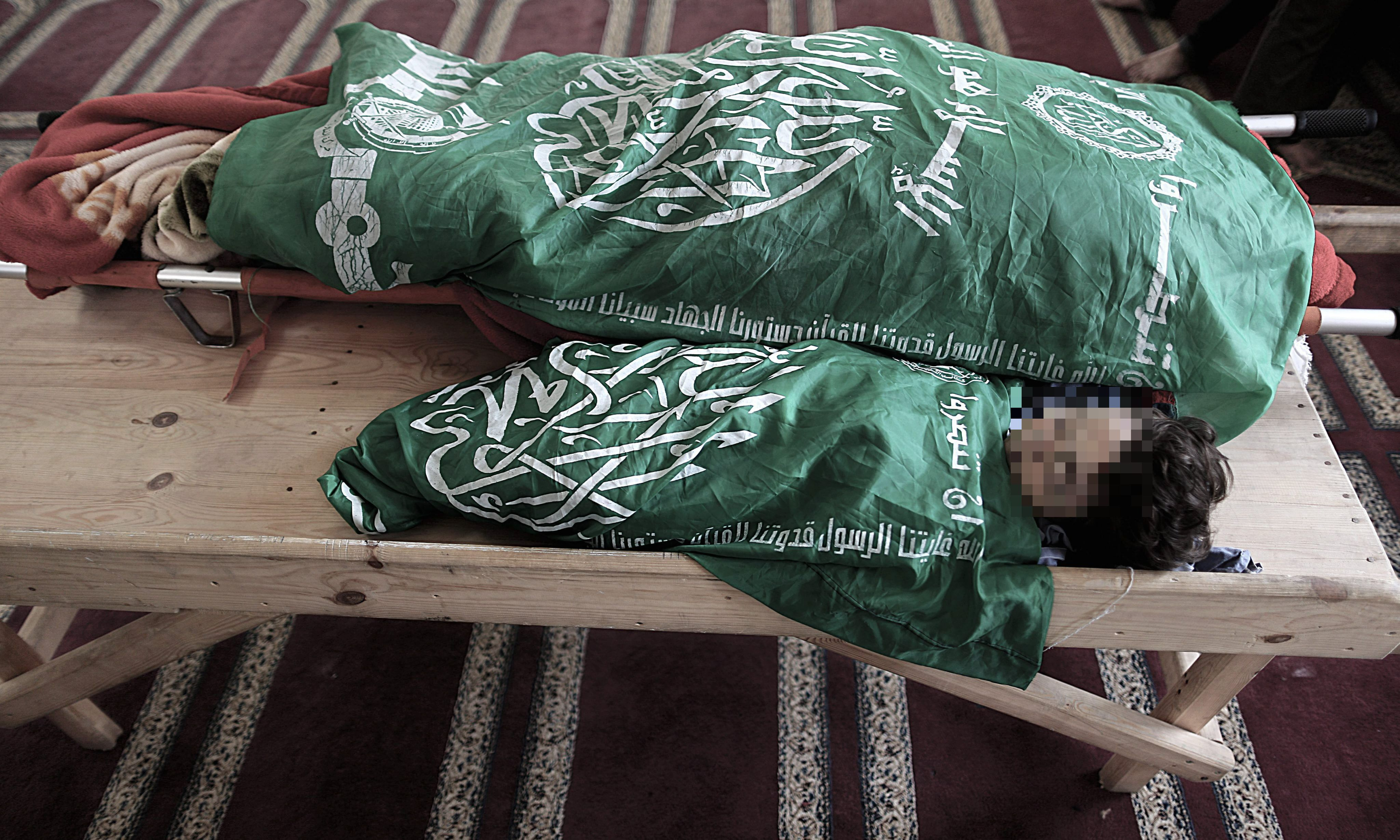 Israel: Una embarazada y su hija de dos años mueren en un bombardeo en Gaza. (EFE)