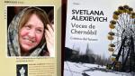 Svetlana Alexievich: Descarga aquí las primeras páginas de 'Voces de Chernóbil' en castellano. (EFE/AFP)