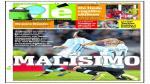 Prensa de Argentina desolada tras derrota de su selección como locales ante Ecuador. (Olé)