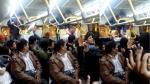 Pleito en el Metropolitano ocurrió el domingo pasado en la noche (Twitter /@XtianOv)