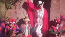 Katy Perry visitó el lago Titicaca y compartió fotos en Instagram