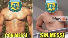 Argentina perdió 2-0 ante Ecuador y con estos memes se burlaron en redes sociales