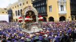 Señor de los Milagros: Así se vive su recorrido por el centro de Lima [Galería] - Noticias de cristo moreno