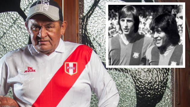 """Hugo Sotil: """"Espero que mi compadre Johan Cruyff ponga ..."""