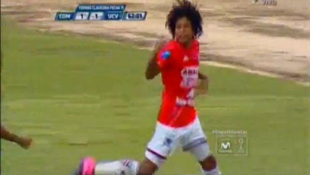 El atacante de Unión Comercio anotó un golazo en el empate ante César Vallejo (CMD)
