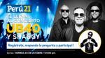 Perú21 te lleva al concierto de UB40 y Shaggy: ¡Entérate aquí como ganar entradas dobles! - Noticias de sorteo