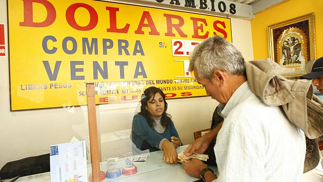 Casas de cambio deberán registrar a clientes que realicen operación mayor de US$5 mil. (USI)