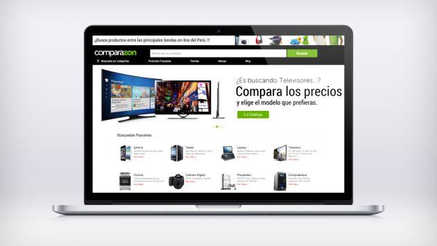 Comparazon.pe, el primer buscador y comparador de productos del Perú. (Difusión)