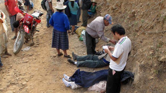 Terrible. En el accidente falleció una pareja de esposos. (USI)