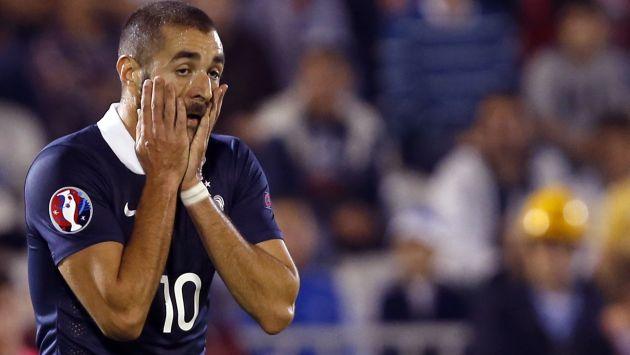 Karim Benzema reconoció estar implicado en el chantaje sexual a Mathieu Valbuena. (AP)