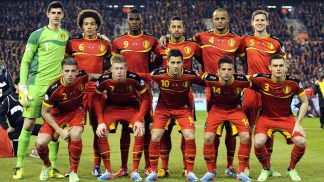 Bélgica se encuentra el puesto número uno del ranking FIFA. (diez.hn)
