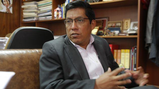 Vicente Zeballos: 'Informe final del caso Orellana está al 80%'. (Luis Gonzales)