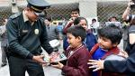 Rímac: Más de 400 niños cambiaron sus armas de juguete por rompecabezas y cubos mágicos [Video] - Noticias de roberto villar
