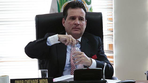 Nadine Heredia: Omar Chehade declara ante fiscal por caso de presunta usurpación de funciones. (Perú21)