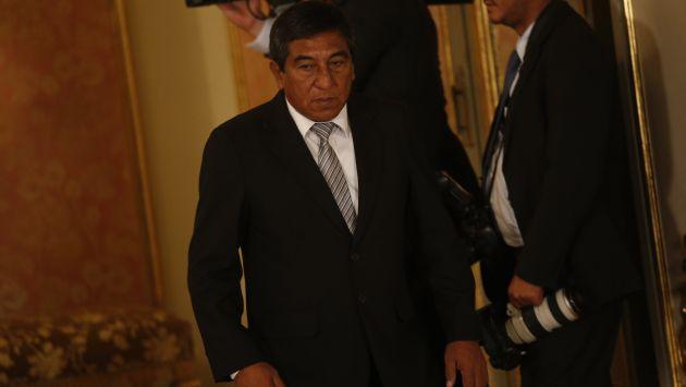 CRÍTICO. Gobernador dice que Ejecutivo dicta normas que no se ajustan al desarrollo de la región. (César Fajardo)