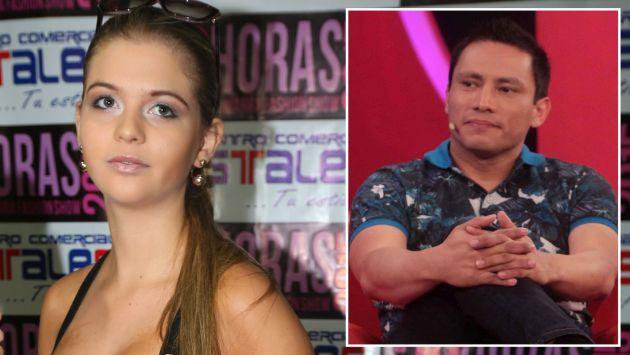 Brunella Horna se peleó con Renzo Costa y lo dejó solo en concierto. (USI)