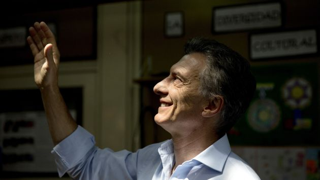 Mauricio Macri es el virtual presidente electo de Argentina. (AP)