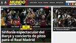 La prensa española destacó la goleada del Barcelona sobre el Real Madrid - Noticias de rafael benitez