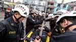 Gamarra: 300 policías y más de 100 serenos patrullarán emporio comercial desde diciembre - Noticias de muni