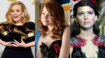 Adele, Emma Stone y Jennifer Lawrence juntas. (Vogue)