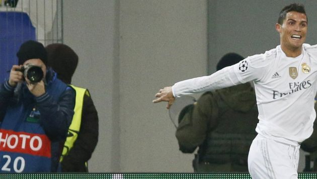 Real Madrid le ganó con susto al Shakhtar Donetsk en la Champions League