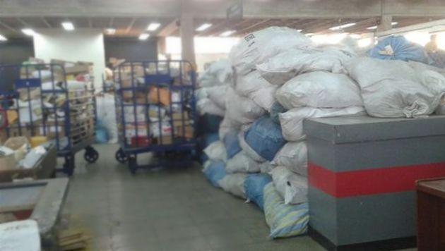 Serpost: Encomiendas sin entregar permanecen en almacenes debido a huelga